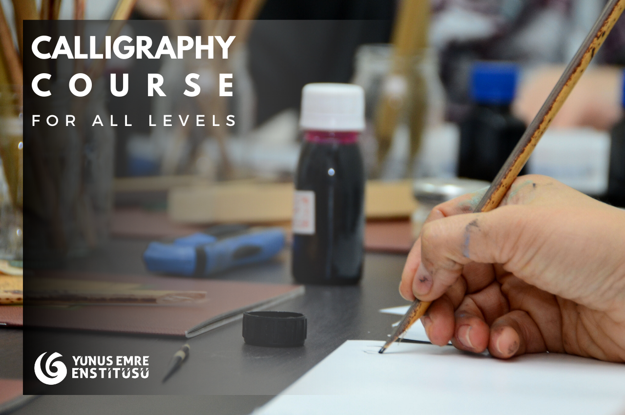 Online Ottoman Calligraphy Course with Materials