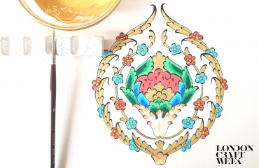 Stylized Flowers in Turkish Decorative Arts